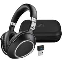 EPOS Sennheiser MB 660 UC MS Wireless Headset Bluetooth Over-the-Head Style Noise Cancelling With Microphone Black
