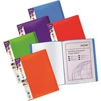 Snopake Rainbow Display Books A4 Assorted 24 Pockets Pack of 5