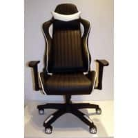 Alphason Gaming Chair Senna Plastic Black