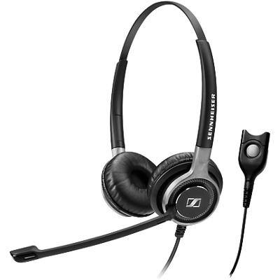 EPOS Sennheiser SC 660 TC Wired Headset Over-the-Head Style Noise Cancelling With Microphone Black