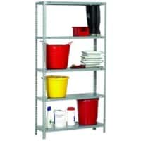 SLINGSBY Shelving Unit Grey 900 x 300 x 1,800 mm