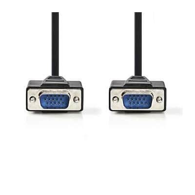 nedis CCGP59000BK50 VGA Male to VGA Male Cable 5m Black
