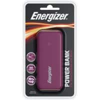 Energizer Power Bank UE5007 5000mAh Brown, Cream