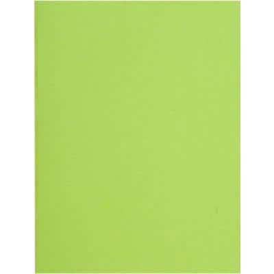 Exacompta Recycled Square Cut Folders 160013E A4 Soft Green 220gsm Board Pack of 500