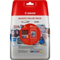 Canon CLI-551 Original Ink Cartridge Black, Cyan, Yellow, Magenta Pack of 4