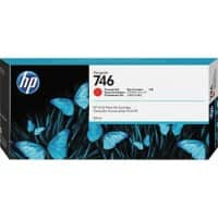 HP 746 Original Ink Cartridge P2V81A Chromatic Red