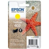 Epson 603XL Original Ink Cartridge C13T03U44010 Yellow