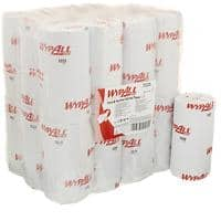 WYPALL Wiping Paper L10 1 Ply Blue 24 Rolls of 165 Sheets