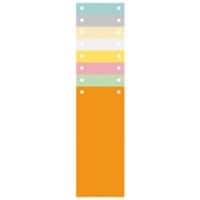 Exacompta Punched Dividers 13395B Assorted 105x240mm Pack of 1200