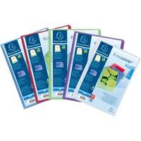 Exacompta Display Book 5759E A4 Assorted 50 Pockets Pack of 8