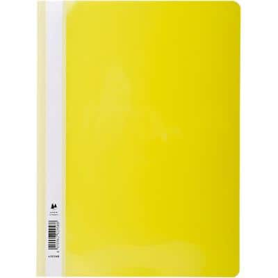Exacompta Presentation Folders Folder A4 Yellow A4 Yellow PVC Pack of 25