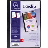Exacompta Presentation Folder 437801B Black