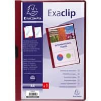 Exacompta Presentation Folder 437823B Burgundy