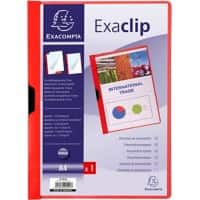 Exacompta Presentation Folder 437803B Red