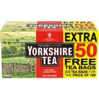 Yorkshire Original Tea Bags 210 Pieces