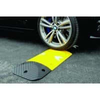 Speed Ramp Anti-slip Yellow 5 x 25 x 5 cm