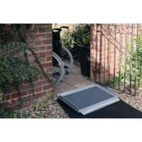 Parking Block Wheel Stop Design Black 165 x 15 x 10 cm