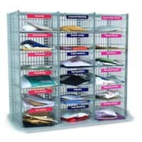 SLINGSBY Mail sorting Unit 18 compartments 3 columns x 6 rows