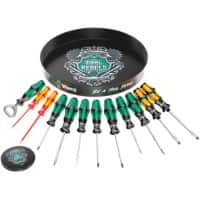 Wera Round of Screwdrivers Set Multi-Colour 1730 gr Multi-colour Pack of 11 Tools