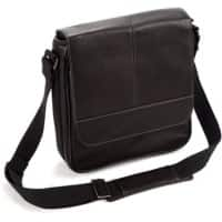 Falcon Leather Tablet Bag FI6701 28 x 29 x 8 cm Black