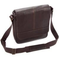 Falcon Leather Tablet Bag FI6701 28 x 29 x 8 cm Brown