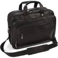 Falcon Laptop Bag FI6703 15.6 Inch Leather Black 41.5 x 15 x 31 cm