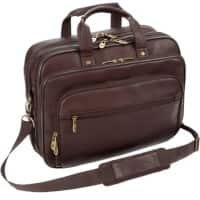 Falcon Laptop Bag FI6704 15.6 Inch Leather Brown 41.5 x 15 x 31 cm