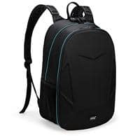 Falcon Laptop Backpack is0310 15.6 Inch Polyester Black, Blue 30 x 14 x 46 cm