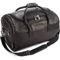 Falcon Leather Travel Sport Holdall FI6707 51 x 30 x 30 cm Black