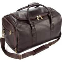 Falcon Leather Travel Sport Holdall FI6707 51 x 30 x 30 cm Brown