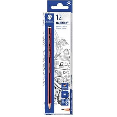 STAEDTLER Pencils Tradition HB Pack of 12