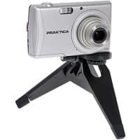 PRAKTICA Table Top Tripod Universal Black Support to Camera, Camcorder or Action Cam