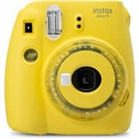 Fujifilm Instant Camera Instax Mini 9 Clear Yellow