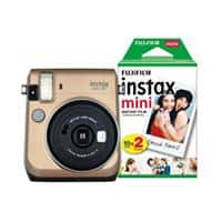 Fujifilm Instant Camera Instax Mini 70 Gold 30 Shots
