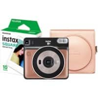 Fujifilm Instant Camera Instax Square SQ6 Blush Gold + 1 x 10 shot film pack