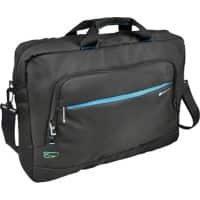 Monolith Laptop Case Blue Line 3316 17.2 Inch Recycled Plastic Black 43 x 11 x 31 cm
