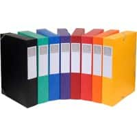 Exacompta Filing Box 19500H A4 Assorted Glossy Card 25 x 33 cm 10 Pieces