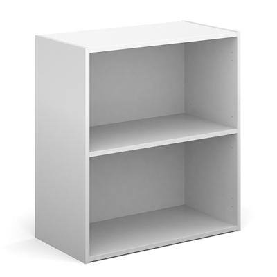 Dams International Bookcase with 1 Shelf Contract 25 756 x 408 x 830 mm White