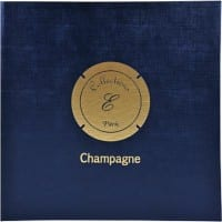 Champagne Capsule Binder 100 Caps 5 pages x 20 compartments 24,5x25 cm Navy blue