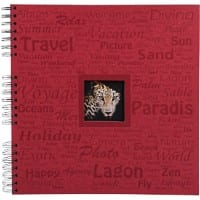 Photo Album Spiral Momento 32x32 Burgundy 60 pages 361 photos