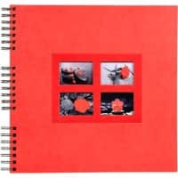 Photo Album Spiral Passion 32x32cm Red 60 pages 359 photos