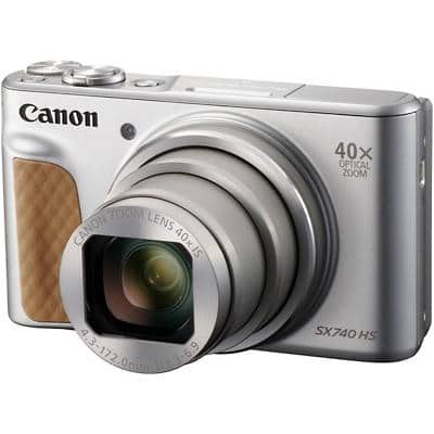 Canon Digital Camera PowerShot SX740 HS 20.3 Megapixel Silver