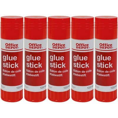 Office Depot Glue Stick 40g Pack of 5