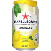 S.Pellegrino Limonata Lemon Sparkling Drink Can 330ml Pack of 24