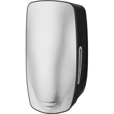 Unbranded Hand Soap Dispenser 900ml Silver, Black Wall Mounted Refillable
