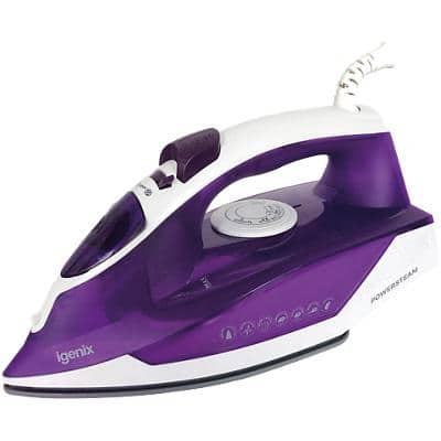 igenix Steam Iron IG3122 2200W Purple & White