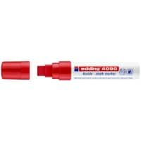 edding 4090 Chalk Marker Chisel Red