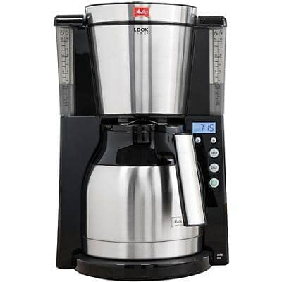 Melitta Look IV Therm Timer Coffee Maker Black