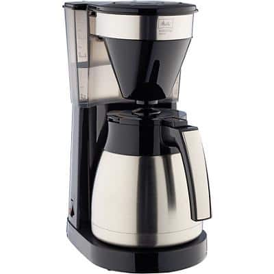 Melitta 1023-10 Drip coffee maker Black, Silver