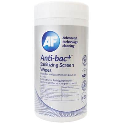 AF Sanitizing Screen Wipes Anti-bac+ 60 Pieces